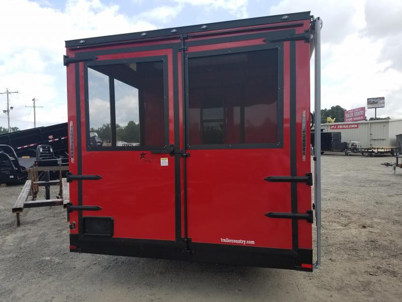2019 Spartan 8.5X18 TA Vending / Concession Trailer