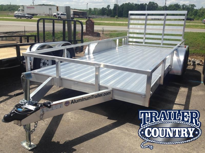 7x16 All Aluminum Utility Trailer-Torsion Axles-CLEARANCE