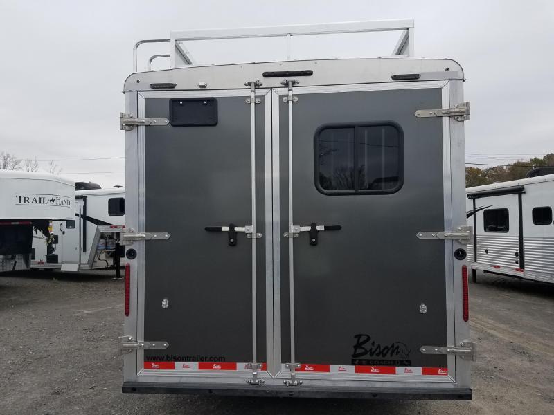 2019 Bison Trailers 8316 LAREDO Horse Trailer