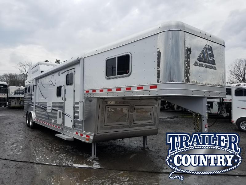 2017 Elite Trailers 3 HORSE LIVING QTRS. Horse Trailer