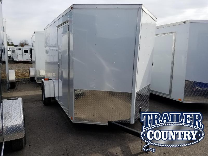 2018 Precision 6X12 SA Enclosed Cargo Trailer