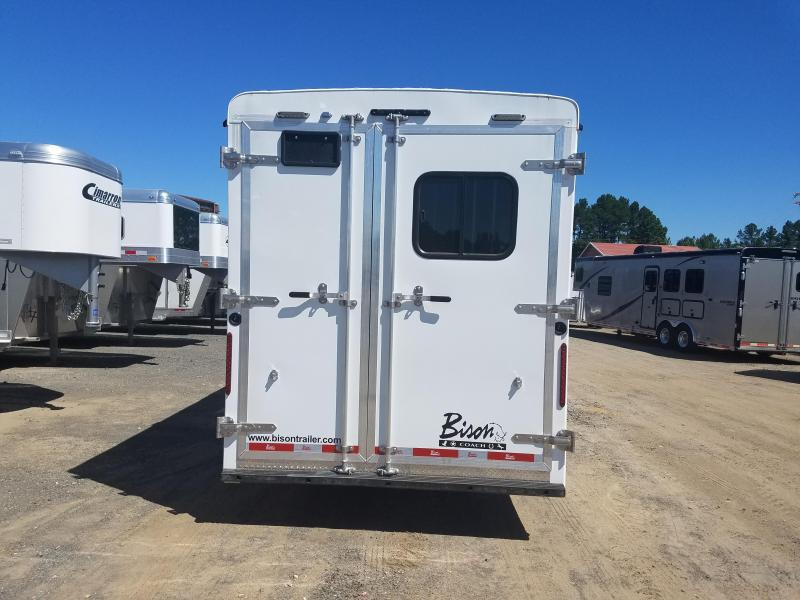 2020 Bison Trailers 7311 TRAIL HAND Horse Trailer