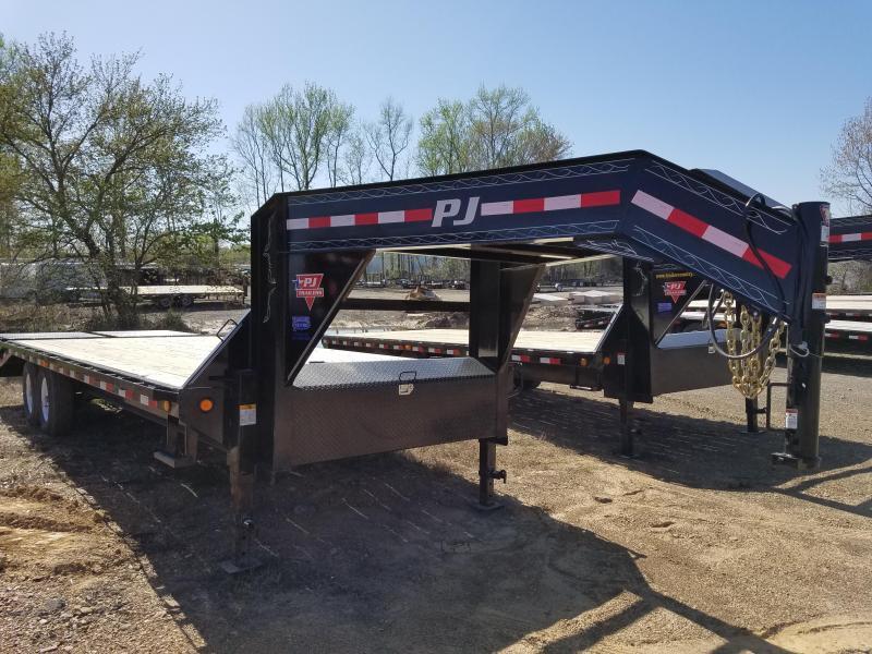 2018 PJ Trailers 102X25 Flatbed Trailer