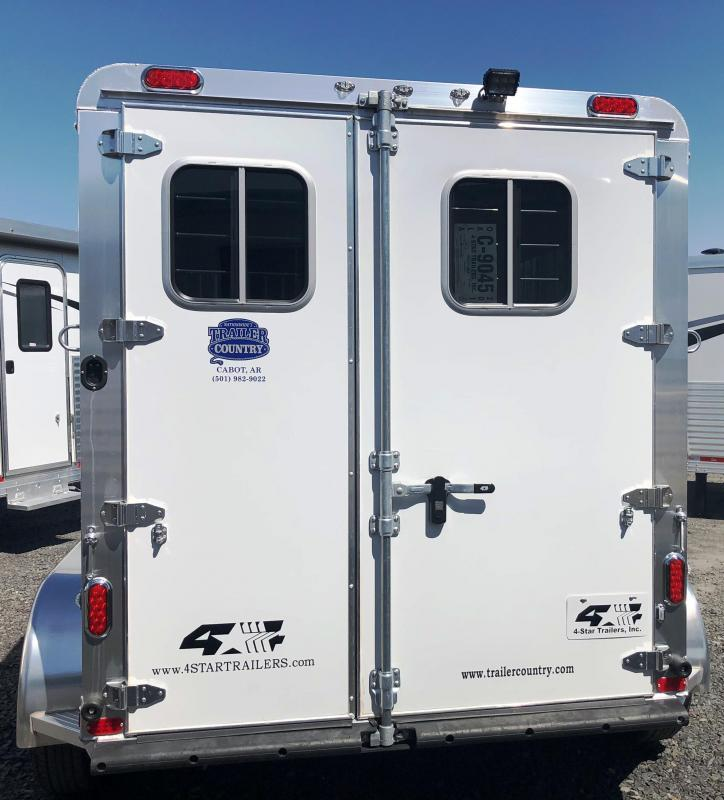 2019 4-Star Trailers 2H RUNABOUT BP Horse Trailer