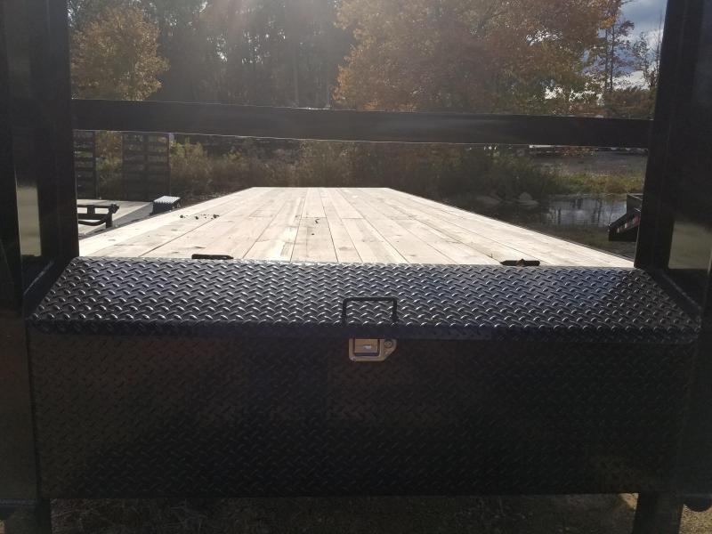 2019 PJ Trailers 102X28 HEAVY DUTY GN Flatbed Trailer
