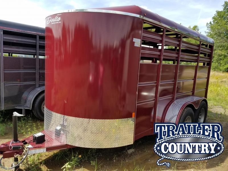 2019 Delta Manufacturing 500ES Livestock Trailer