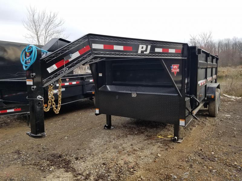 2020 PJ Trailers 83X16 LOW PRO HIGH SIDE Dump Trailer