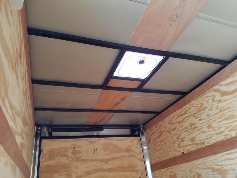 2018 Precision 6X12TA Enclosed Cargo Trailer