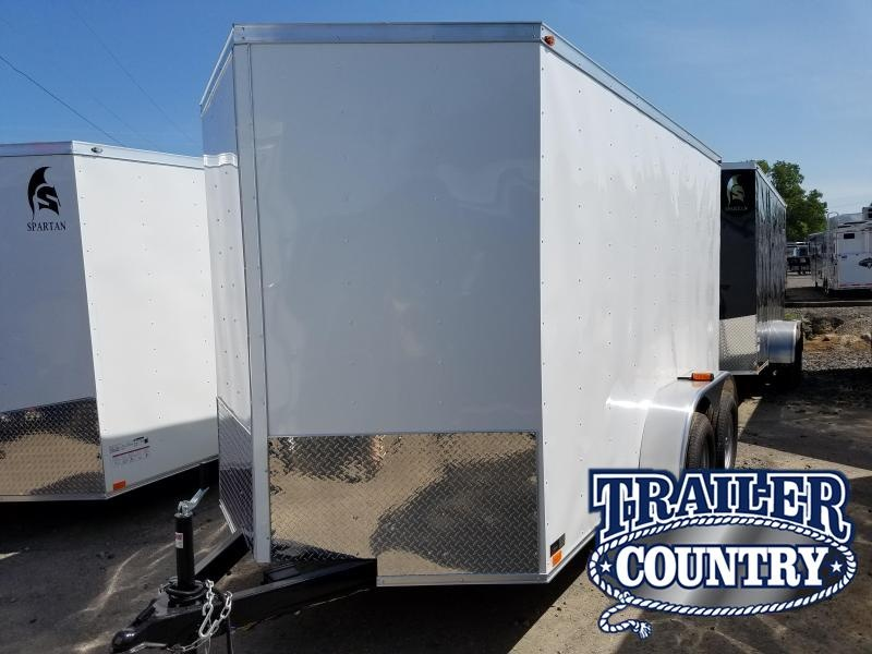 2018 Precision 6X12TA Enclosed Cargo Trailer