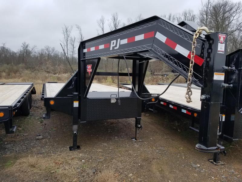 2019 PJ Trailers 102X25 Flatbed Trailer