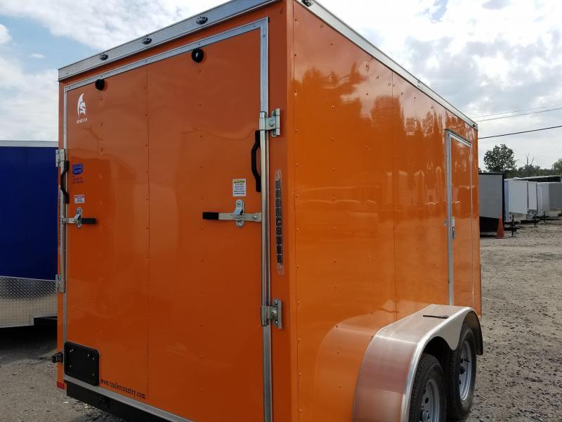 2019 Spartan 6X112TA Enclosed Cargo Trailer