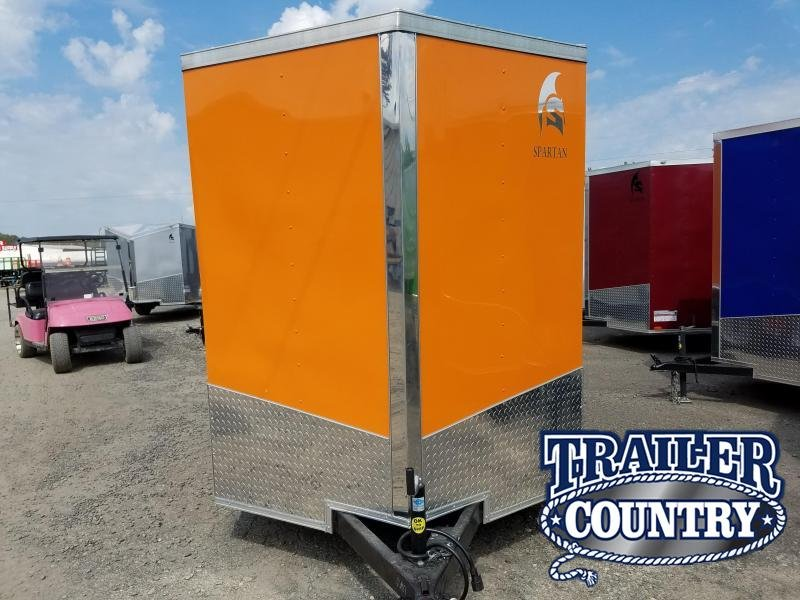 2019 Spartan 6X112TA Enclosed Cargo Trailer