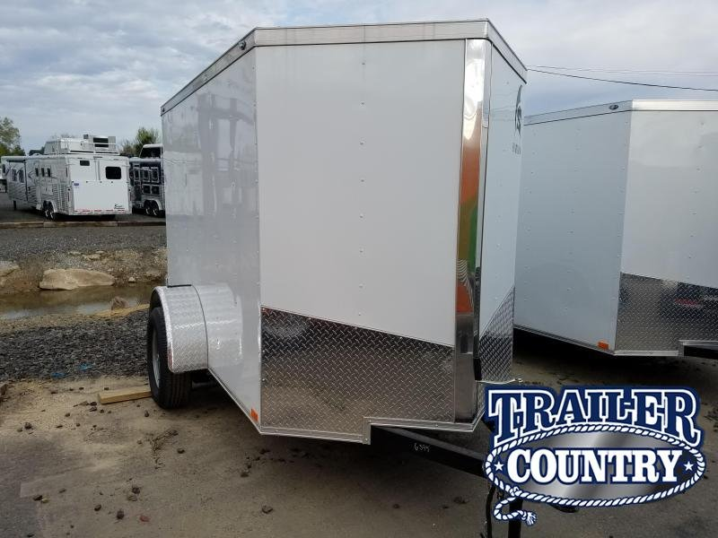 2018 Spartan 5X8 SA Enclosed Cargo Trailer