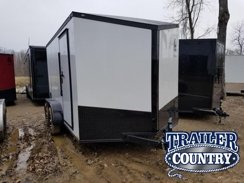 2019 Spartan 7X12TA Motorcycle Trailer