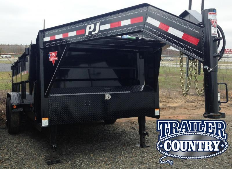 83X14 Gooseneck PJ High Side Dump-3' Sides in Ashburn, VA
