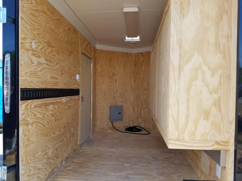 2018 Spartan 6X10 TAIL GATER Enclosed Cargo Trailer