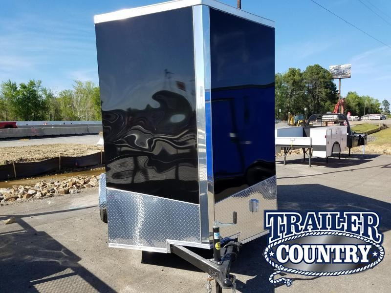 2018 Spartan 6X10 TAIL GATER Enclosed Cargo Trailer
