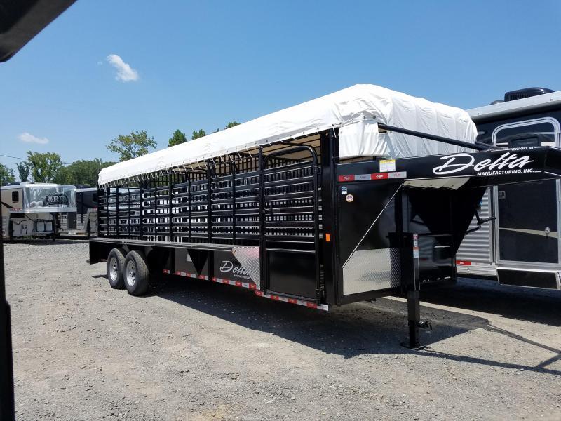2018 Delta Manufacturing 600 SERIES Livestock Trailer