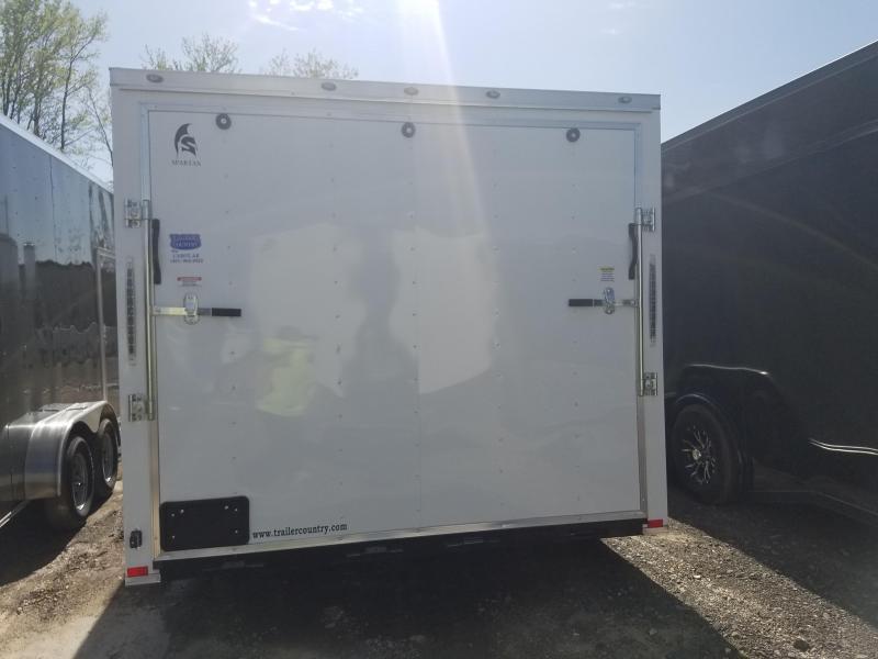 2018 Spartan 8.5X20 Enclosed Cargo Trailer