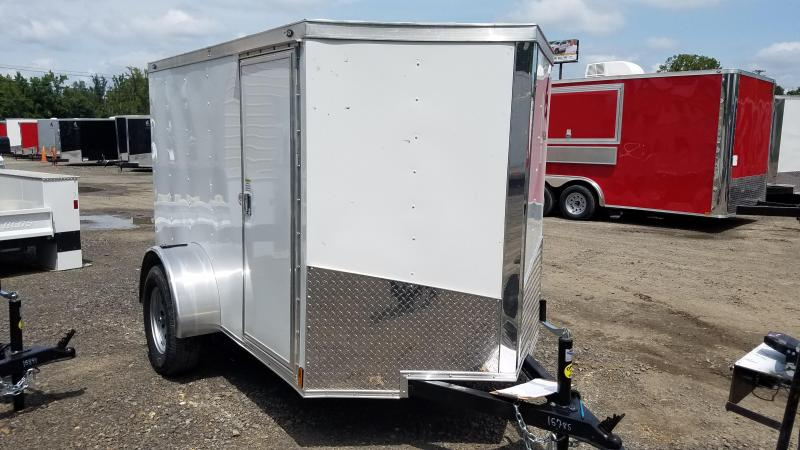 2020 Spartan 5X8 SA Enclosed Cargo Trailer