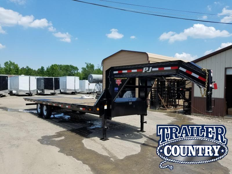 2018 PJ Trailers 96X26 GN DECKOVER TILT Flatbed Trailer in Ashburn, VA