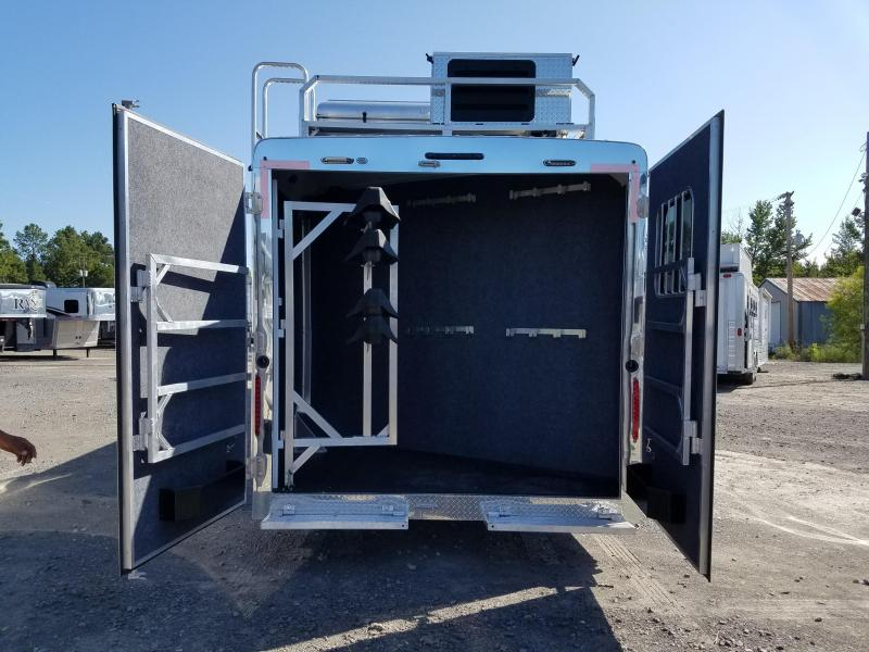 2019 Bison Trailers 8414 RANGER Horse Trailer