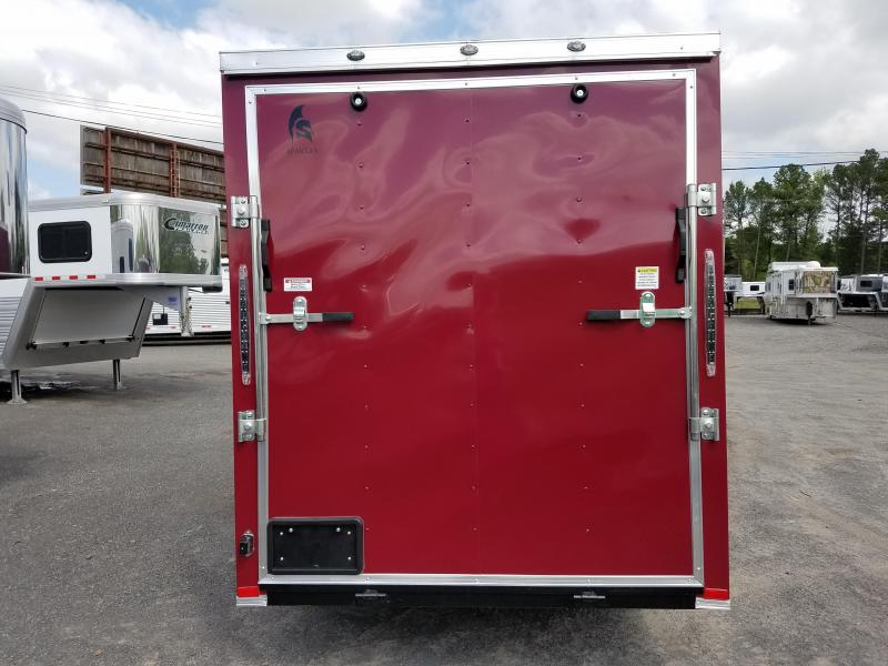 2018 Spartan 6X12 SA Enclosed Cargo Trailer