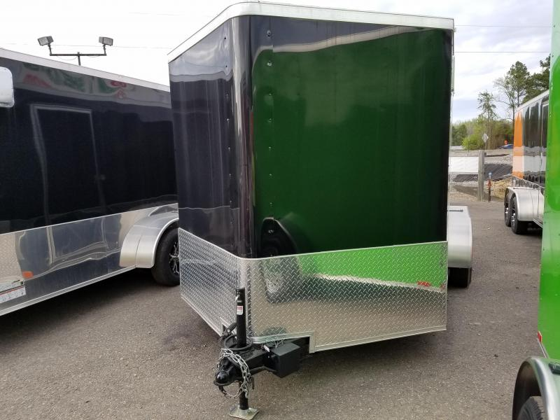2018 Spartan 7x14 Motorcycle Trailer