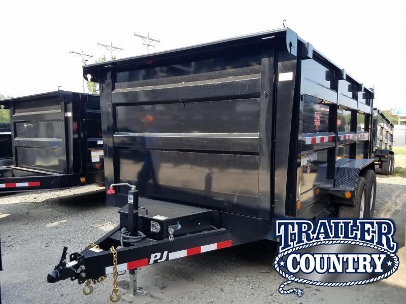 2018 PJ Trailers 83X14 HIGH SIDE Dump Trailer