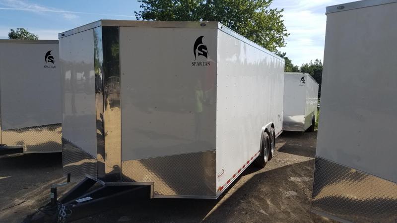 2019 Spartan 8.5X20 XXL Enclosed Cargo Trailer