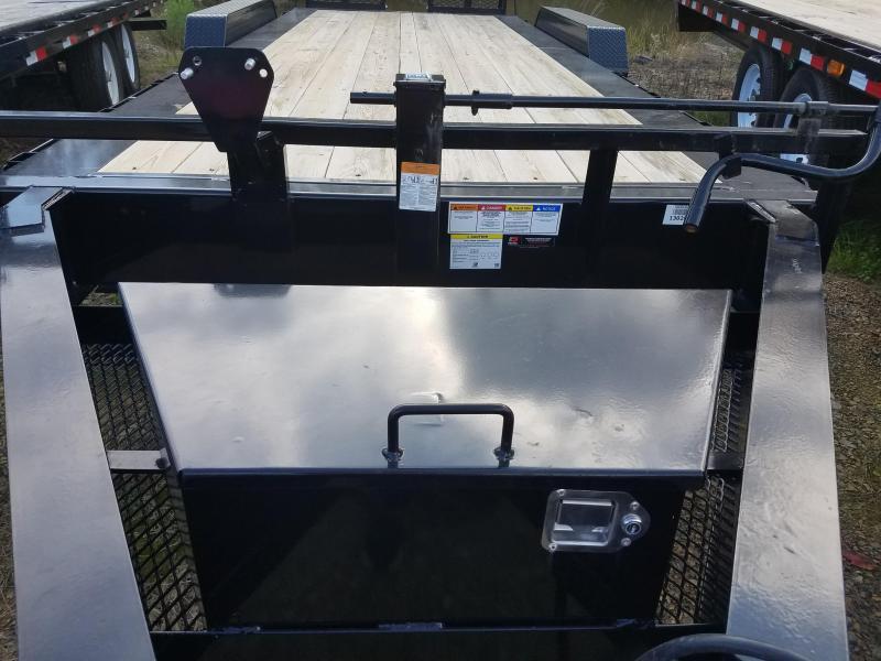 2019 PJ Trailers 83X20 HD 10 I-BEAM Equipment Trailer