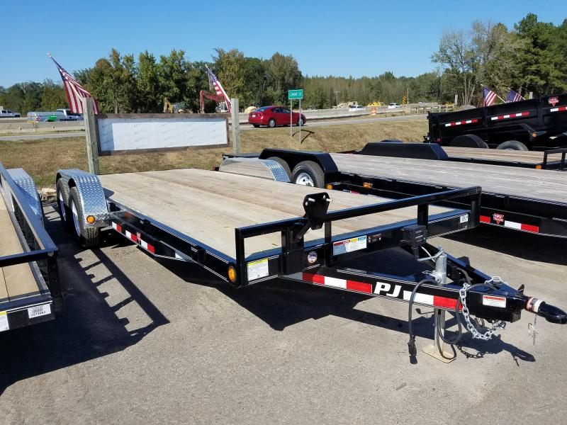 83x20 PJ Carhauler-3500lb Brake Axles
