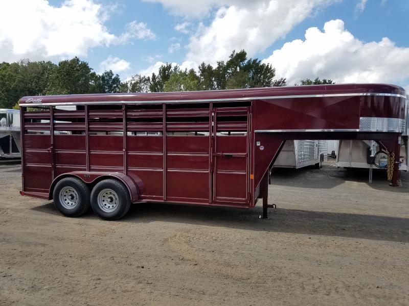 2019 Delta Manufacturing 500e Livestock Trailer