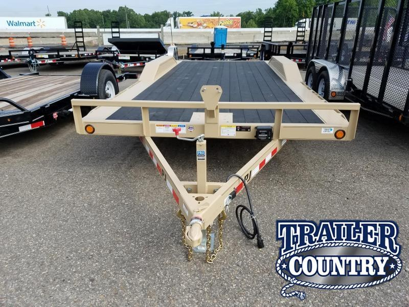 2018 PJ Trailers 102X20 Equipment Trailer in Philipp, MS