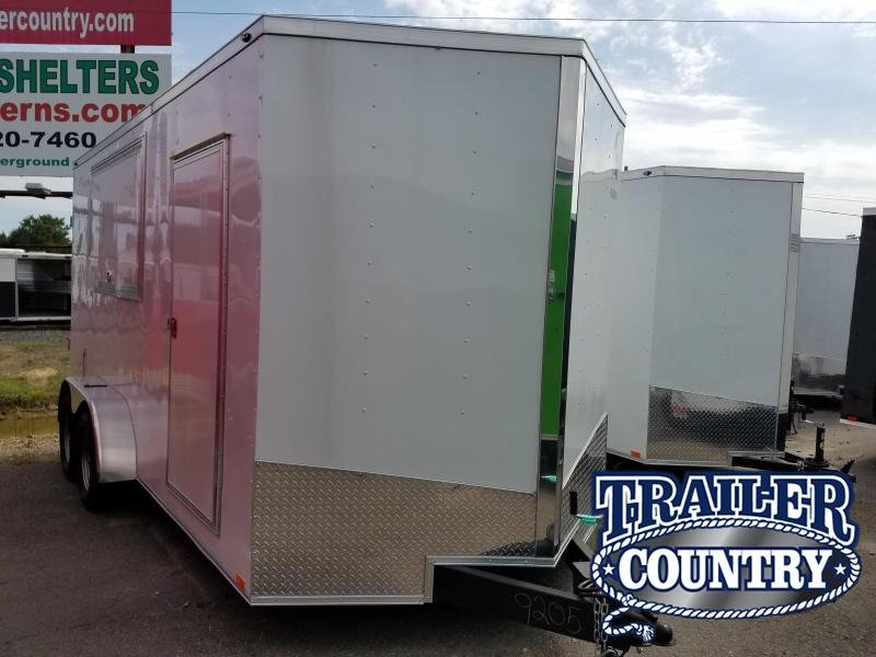 2018 Spartan 7X16 Vending / Concession Trailer