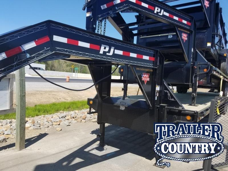 2019 PJ Trailers 102X40 Flatbed Trailer