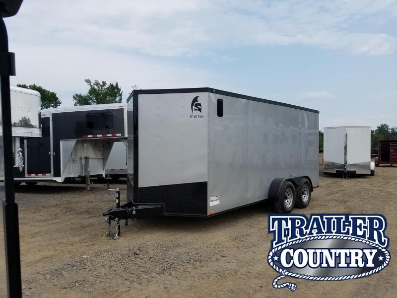 Trailer Country Cabot Ar >> 2018 Spartan 7x16 Enclosed Cargo Trailer Trailer Country