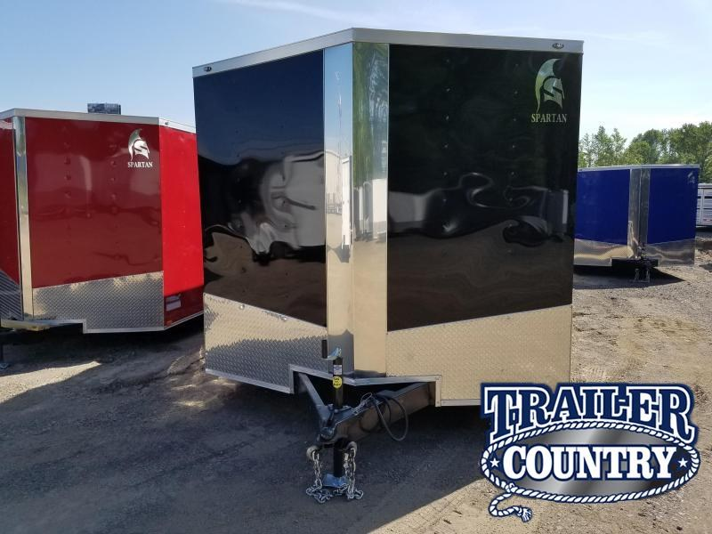 2018 Spartan 8.5X24TA Enclosed Cargo Trailer