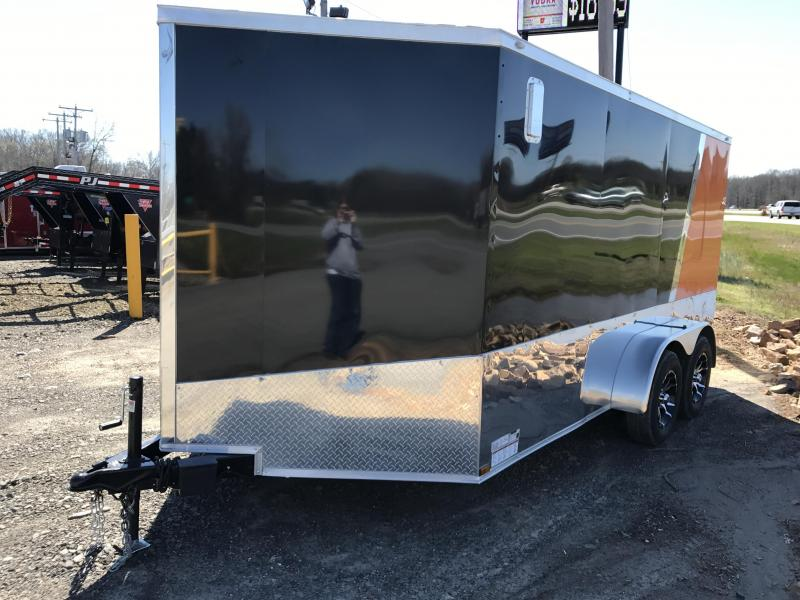 ***CLEARANCE***7x14 Enclosed Motorcycle Trailer-CLEARANCE