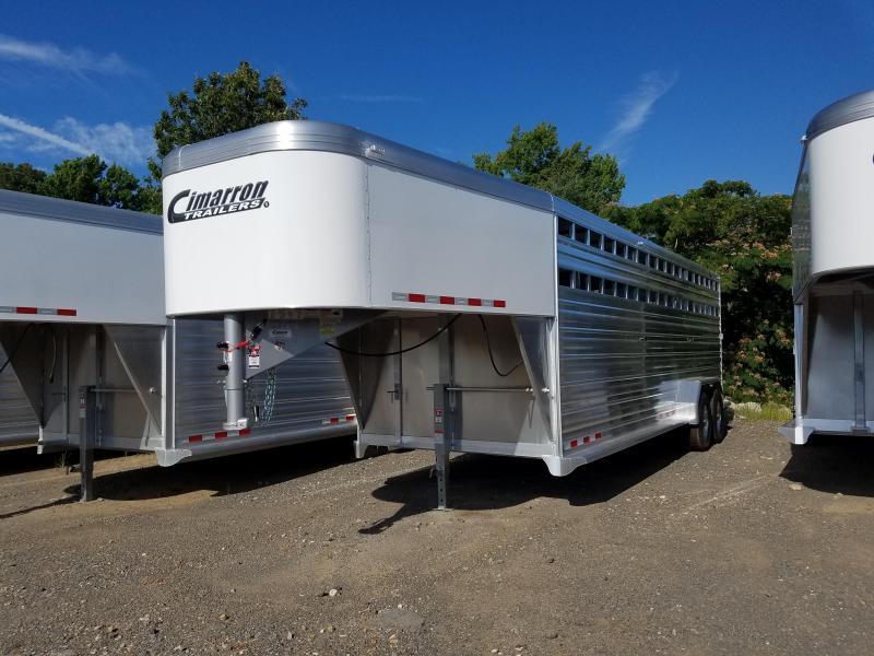 2019 Cimarron Trailers 24 STOCK Livestock Trailer