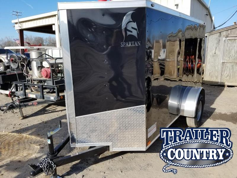 2018 Spartan 5x10 SA Enclosed Cargo Trailer