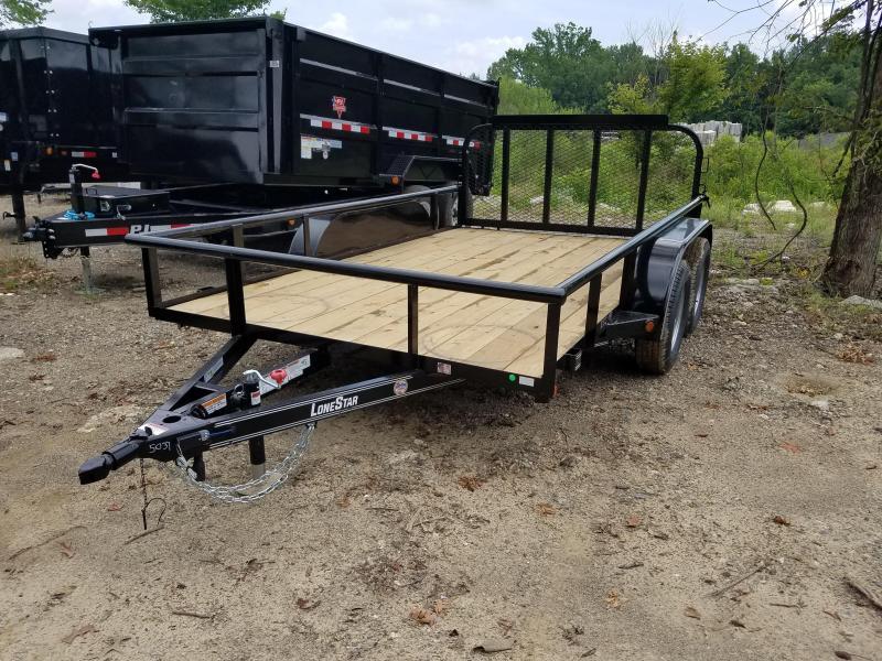 2019 East Texas 83X12 TA Utility Trailer