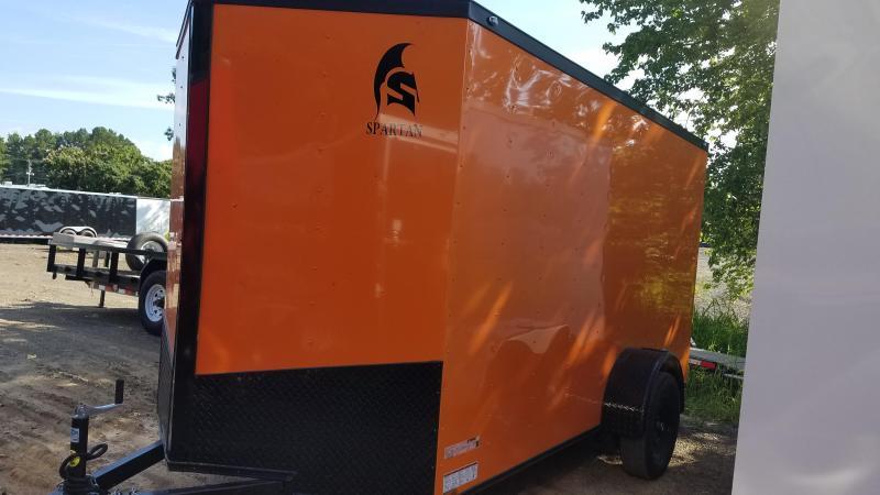 2019 Spartan 6x12 Sa Enclosed Cargo Trailer Trailer