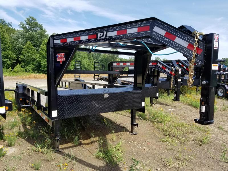 2020 PJ Trailers 24 ANGLE PIPETOP Equipment Trailer