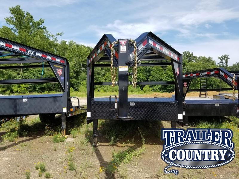 2020 PJ Trailers 24 ANGLE PIPETOP Equipment Trailer in Barton, AR