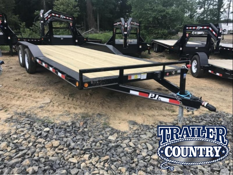 102x20 PJ Buggy Hauler Trailer-3500 lb Axles