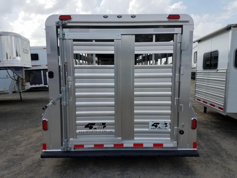 2019 4-Star Trailers 24FT STOCK Livestock Trailer