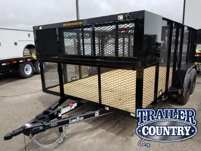2019 East Texas 83X14 LANDSCAPE Utility Trailer