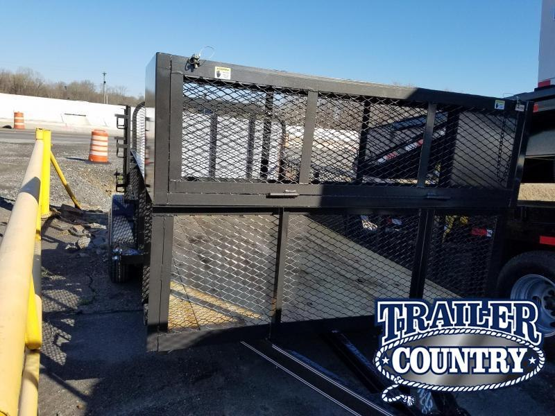 2019 East Texas 77X12 SA Utility Trailer