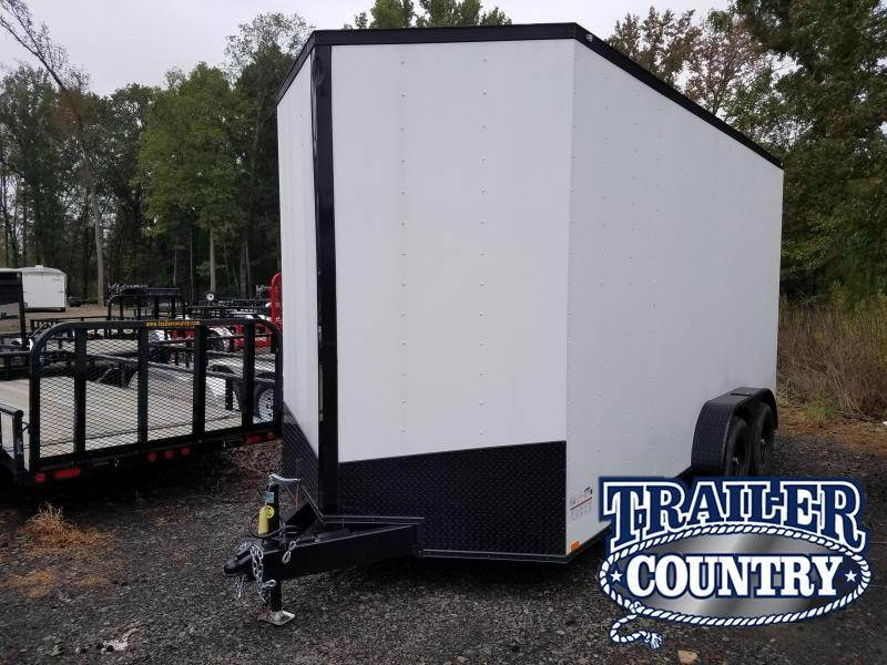 2019 Spartan 7X16 Enclosed Cargo Trailer